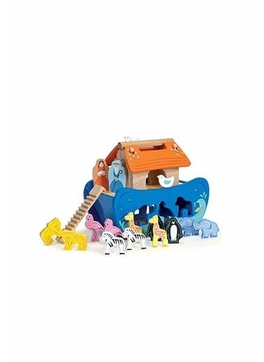 Le Toy Van Le Toy Van Nuh'un Gemisi Şekil Sınıflandırıcısı Beyaz